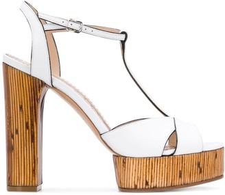 Casadei Platform T-Bar Sandals