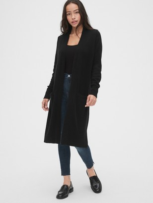 Gap Open-Front Duster Cardigan