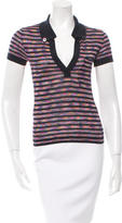 Tod's Collared Short Sleeve Top