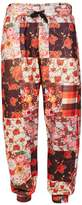 Jaded London Red Patchwork Joggers*