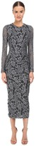 Just Cavalli Lace Overlay Midi Dress Women's Dress