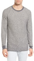 Billy Reid Men's Combo Stripe Crewneck Sweater