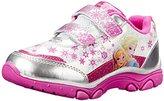 Josmo Disney Frozen Elsa and Anna Light-Up Sneaker