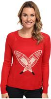 Woolrich Motif Mohair Crew Sweater