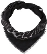 Givenchy Shaded Leopard Scarf