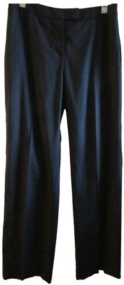 Jaeger Black Wool Trousers for Women Vintage