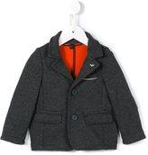 Armani Junior knitted blazer - kids - Cotton/Polyamide/Polyester - 18 mth