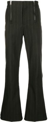 Acne Studios Pinstripe Bootcut Trousers