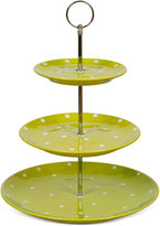 Maxwell & Williams Stoneware 3-Tiered Hand-Painted Sprinkle Server