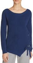 Max Mara Aguzze Lace Up Sweater