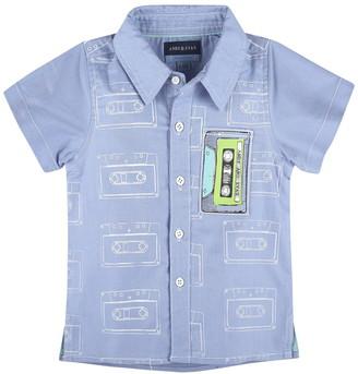 Andy & Evan Cassette Tape Short Sleeve Shirt