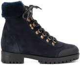 Mr & Mrs Italy trimmed hiker boots