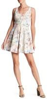 Collective Concepts Floral Cutout Dress