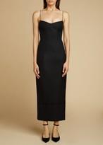 KHAITE The Dierdre Dress in Black