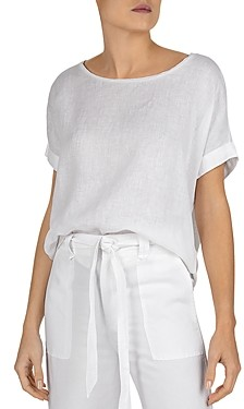 Gerard Darel July Oversized Ramie Linen Tee