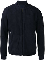 HUGO BOSS bomber jacket - men - Leather/Polyamide/Spandex/Elastane/Cotton - 50