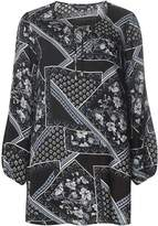 Dorothy Perkins Printed Tie Neck Tunic