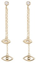 Shashi Evil Eye CZ Drop Earrings