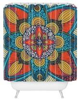 "DENY Designs Valentina Ramos Harmony in Yellow Shower Curtain by 71""x74"")"