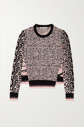 Stella McCartney Jacquard-knit Sweater - Black