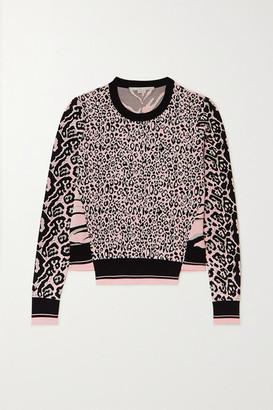 Stella McCartney Jacquard-knit Sweater - Black