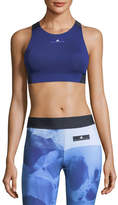adidas by Stella McCartney Colorblocked ClimachillTM Performance Sports Bra