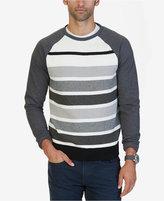 Nautica Men's Stripe Panel Sweater