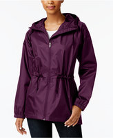 Columbia Arcadia Waterproof Cinched-Waist Raincoat