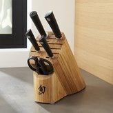 Crate & Barrel Shun ® Sora 6-Piece Knife Block Set