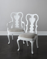 John-Richard Collection Astrid Side Chairs, Pair