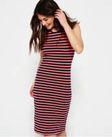 Superdry Core Midi Stripe Dress