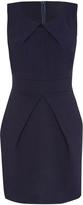 Navy Sleeveless Sheath Dress
