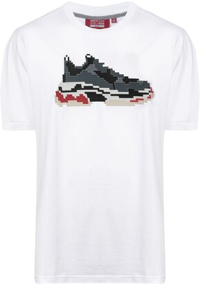 Mostly Heard Rarely Seen 8-Bit pixel sneakers T-shirt