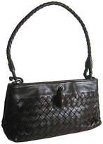 One Kings Lane Vintage Bottega Veneta Woven Leather Pochette