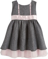 Andy & Evan Herringbone Dress (Toddler/Kid) - Black-5