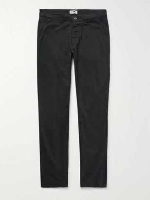 NN07 Marco Slim-Fit Garment-Dyed Stretch-Cotton Twill Chinos