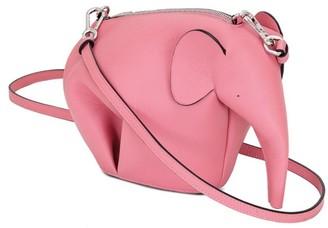 Loewe Mini Elephant Leather Crossbody Bag