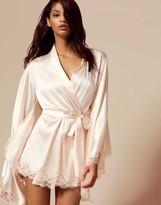 Agent Provocateur Abbey Kimono Ivory