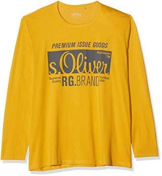 S'Oliver Big Size Men's 15.910.31.6929 Longsleeve T-Shirt,XXXX-Large