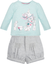 Monsoon Baby Tabitha Bunny Top & Short Set