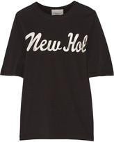 3.1 Phillip Lim Foiled cotton-jersey T-shirt
