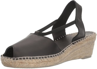 Andre Assous AndrA Assous womens Dainty Espadrille Wedge Sandal