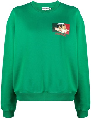 Fiorucci Speed Queen organic cotton sweatshirt