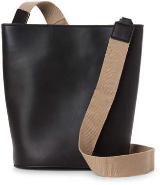 French Connection Black Medina Bucket Bag