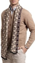 Panegy Scarf for Mens Cashmere Calsual Warm Waps Business Man Classic Plaid Neckerchief