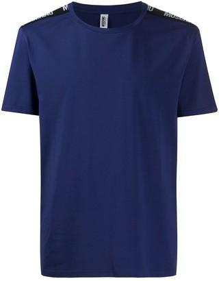 Moschino logo-print tape T-shirt