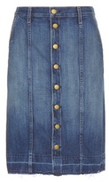 Current/Elliott The Short Sally denim skirt