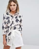 Vila Floral Print Shirt