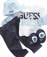 GUESS Boys' 4-Piece Logo-Print Set