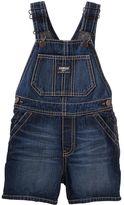 Osh Kosh Toddler Boy Dark Wash Denim Shortalls